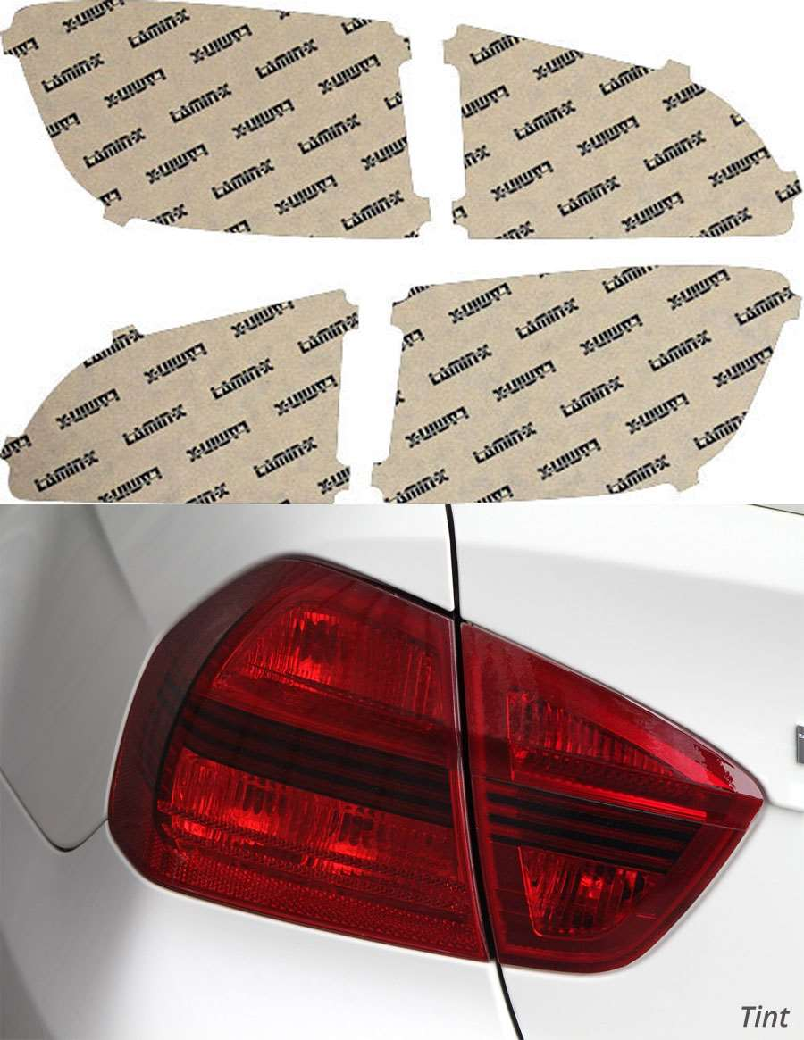 Buick Enclave 13-16 Tint Tail Light Covers Lamin-X BU206T