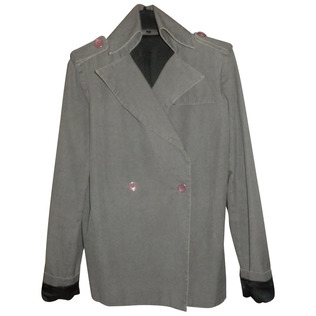 Unconditional \N Jacke in  Grau Baumwolle