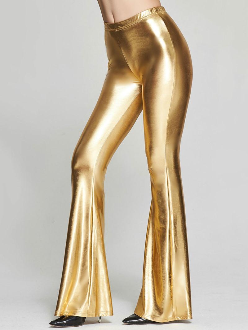 Ericdress Mid-Waist Sequins Pants