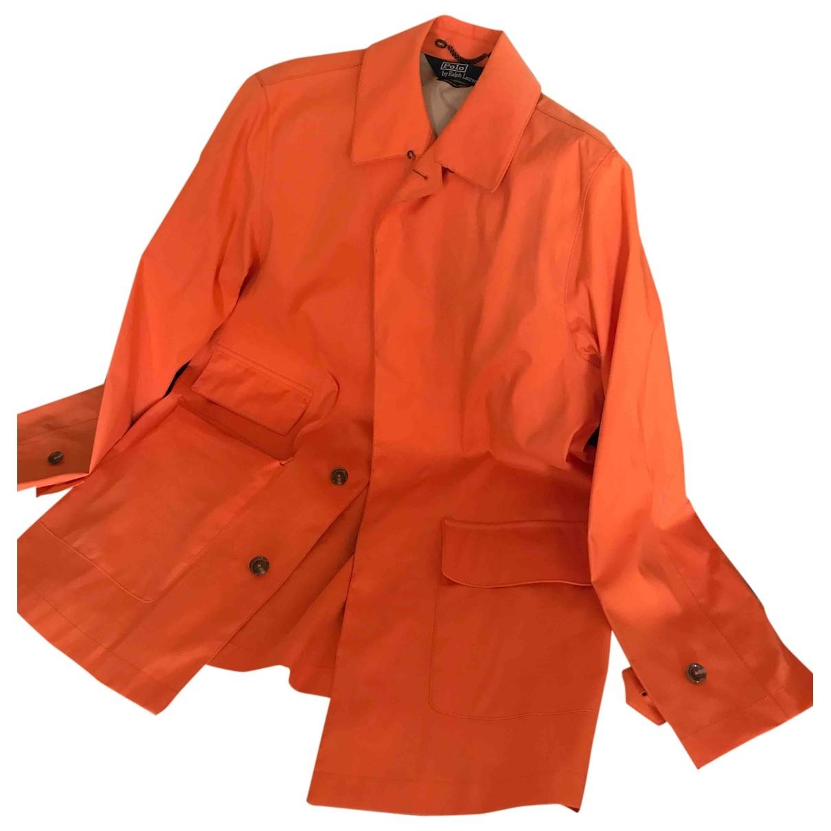 Polo Ralph Lauren \N Maentel in  Orange Baumwolle