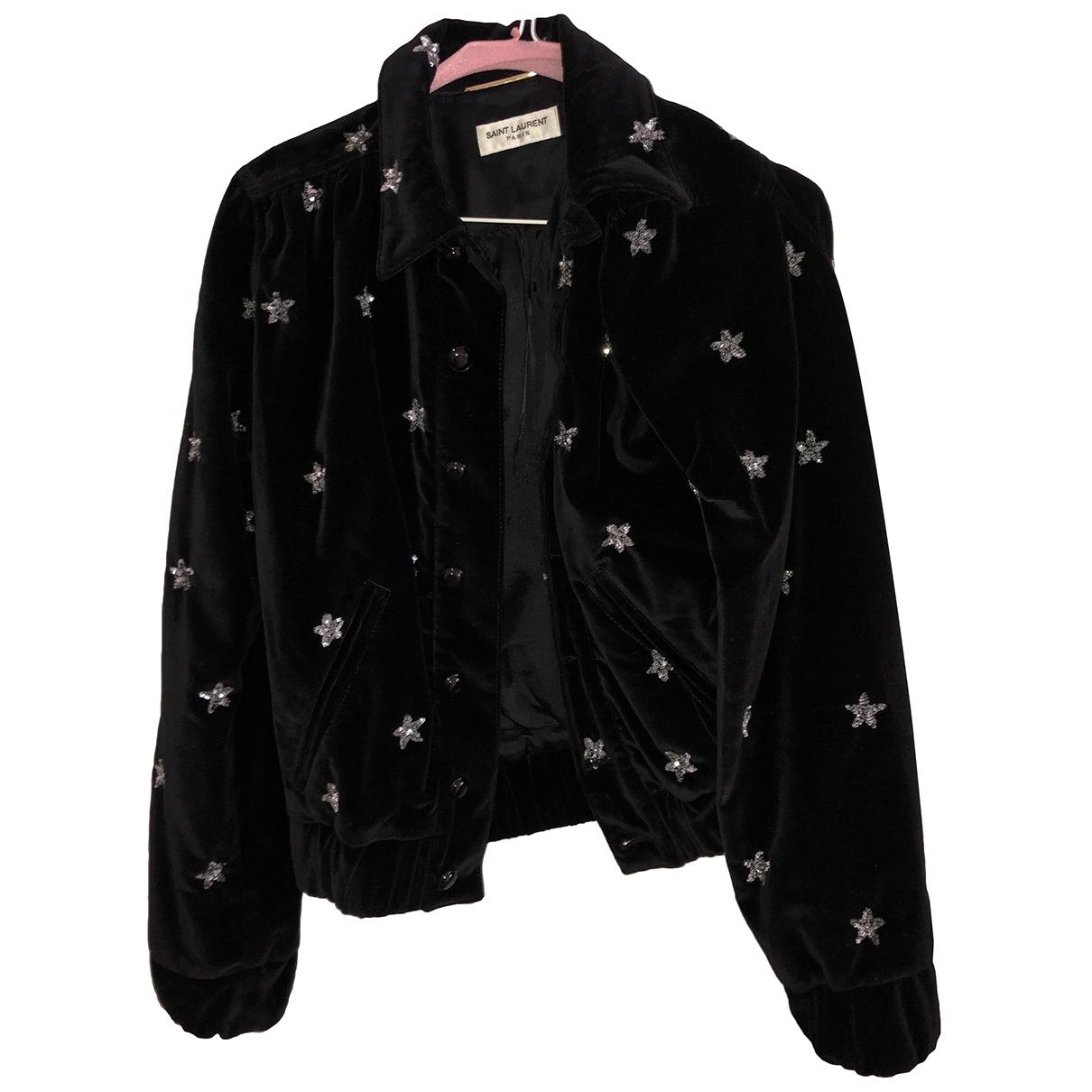 Saint Laurent \N Black Velvet jacket for Women S International