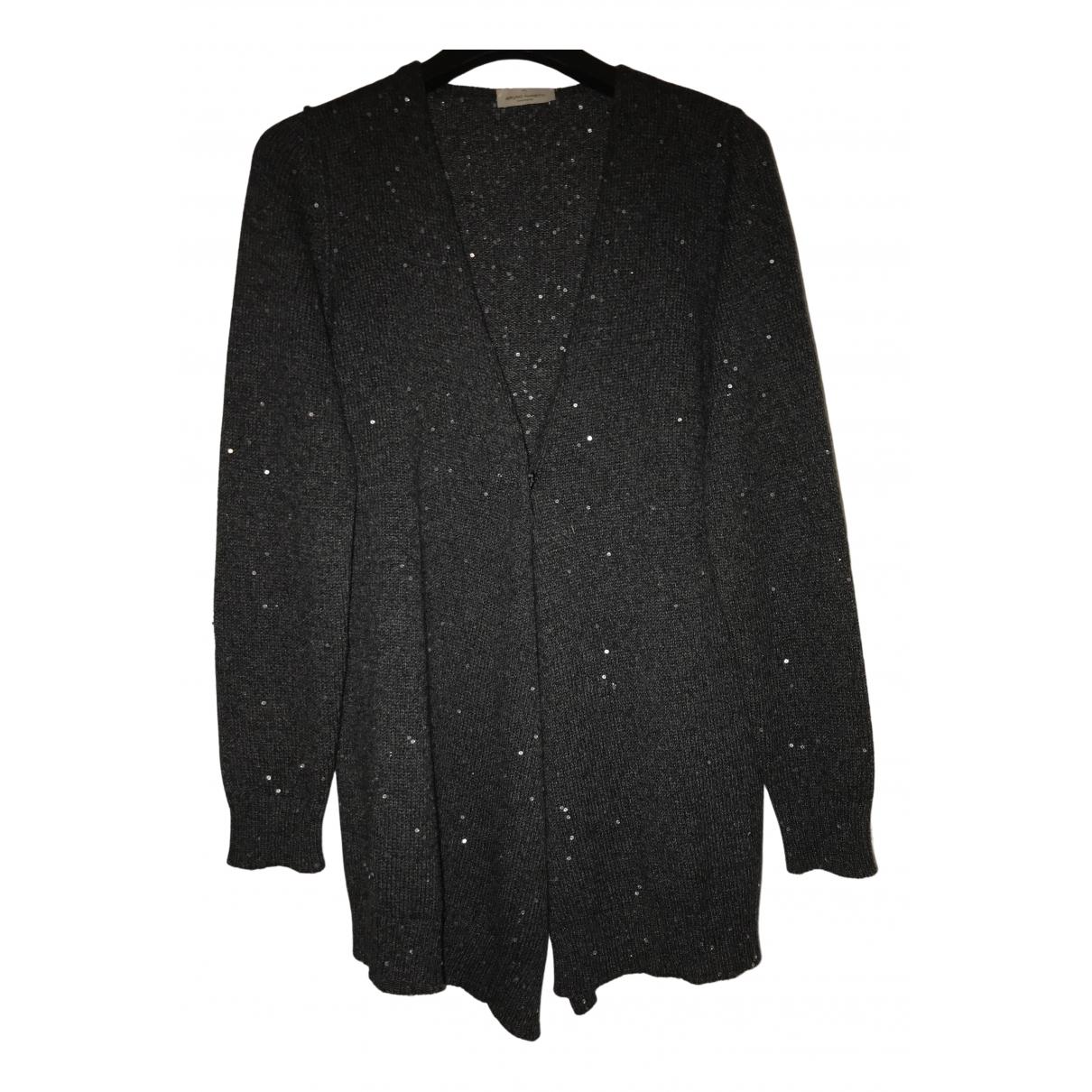 Bruno Manetti - Pull   pour femme en laine - noir