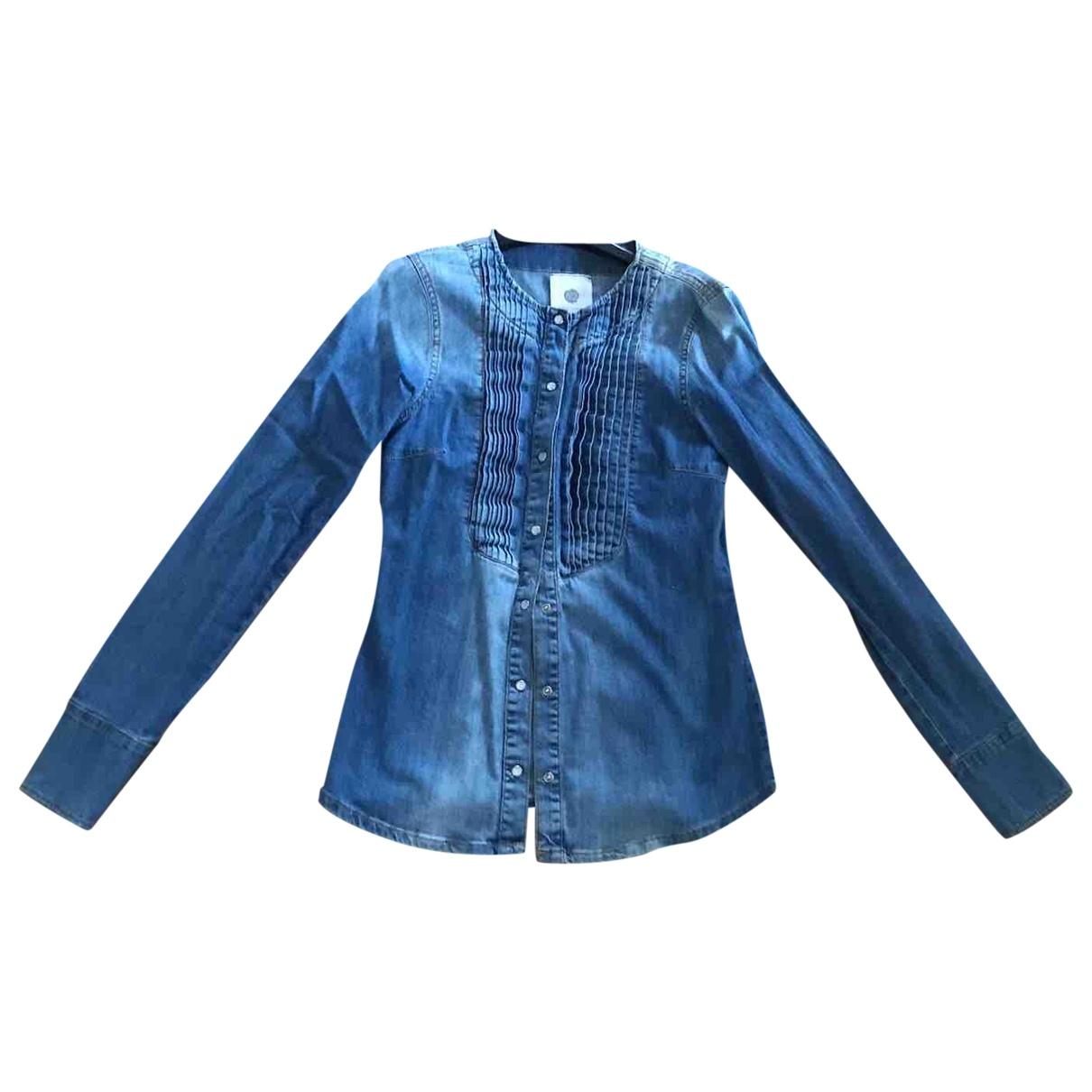 Non Signe / Unsigned \N Top in  Blau Denim - Jeans