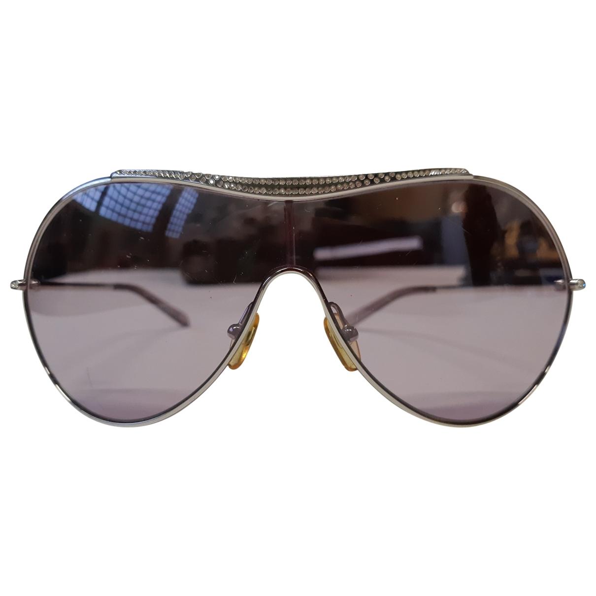 Valentino Garavani \N Sonnenbrillen in  Silber Kunststoff