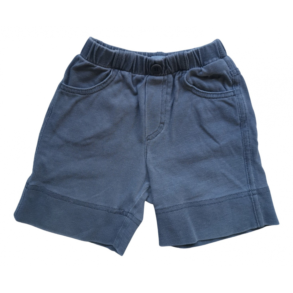 Il Gufo N Grey Cotton Shorts for Kids 6 months - up to 67cm FR