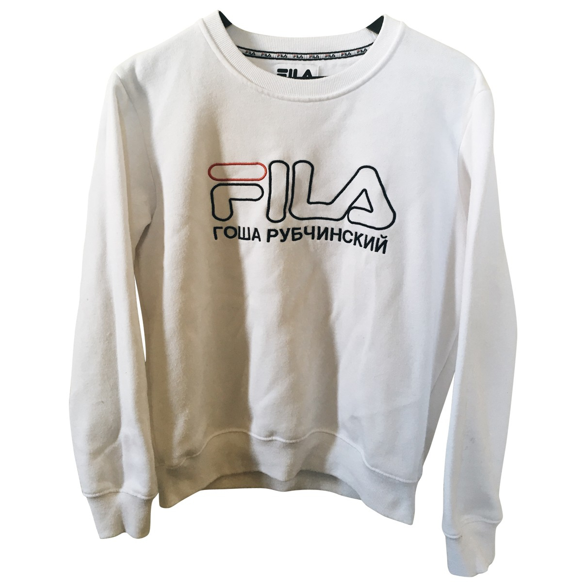 Fila \N Pullover.Westen.Sweatshirts  in  Weiss Baumwolle