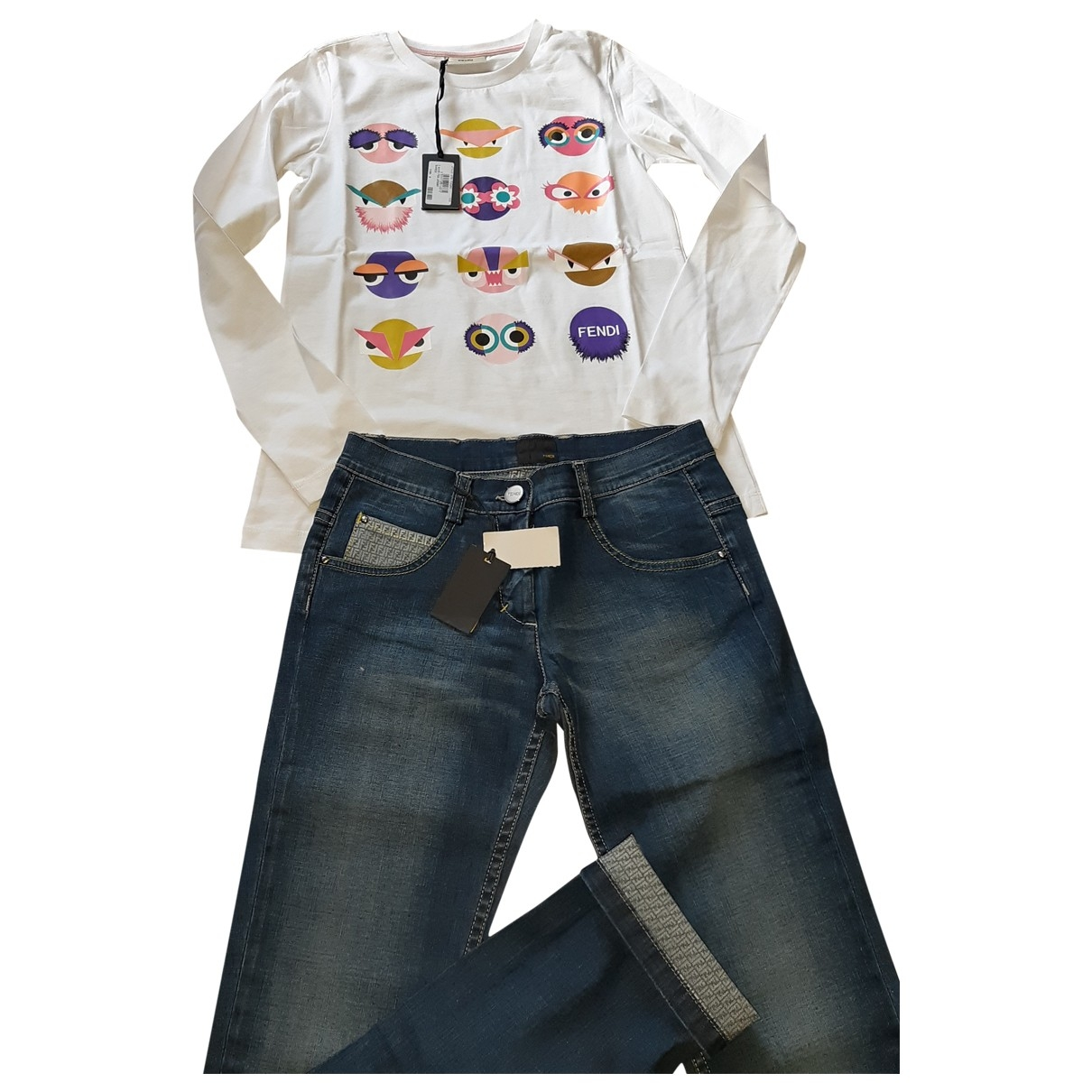 Fendi \N Multicolour Cotton Outfits for Kids 10 years - up to 142cm FR