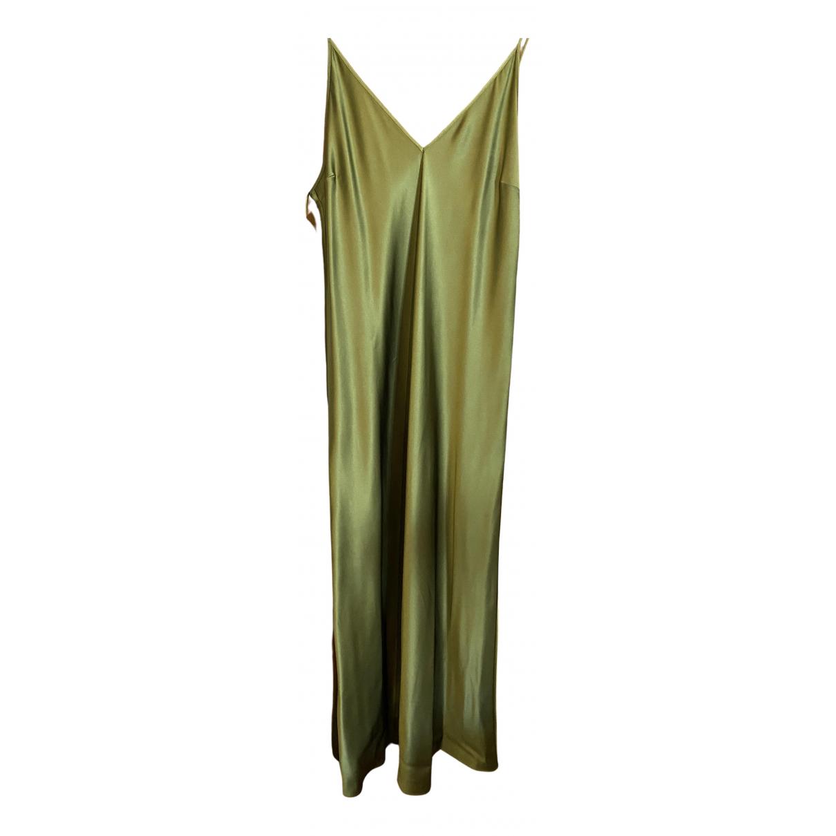 Joseph \N Green Silk dress for Women 14 UK