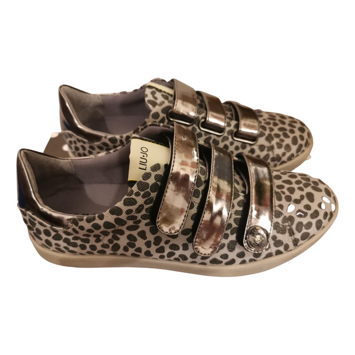 Liu.jo \N Sneakers in  Silber Kautschuk