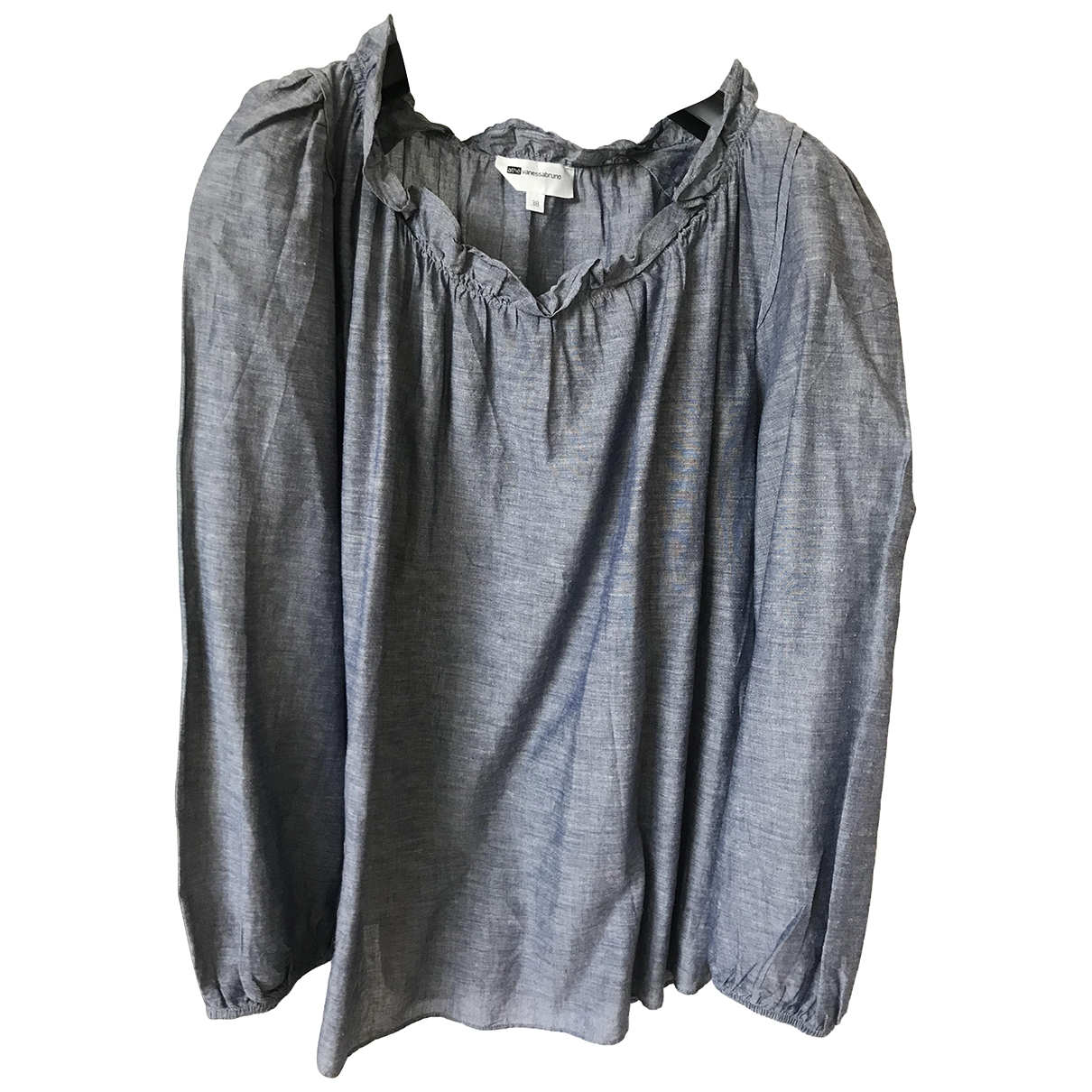Vanessa Bruno Athe \N Blue Linen  top for Women 38 IT