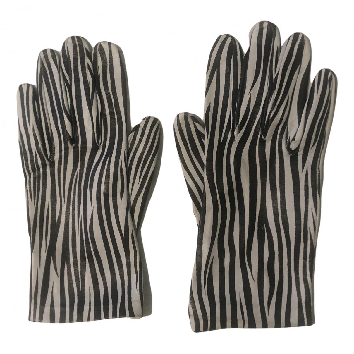 Gianfranco Ferré N Multicolour Leather Gloves for Women L International