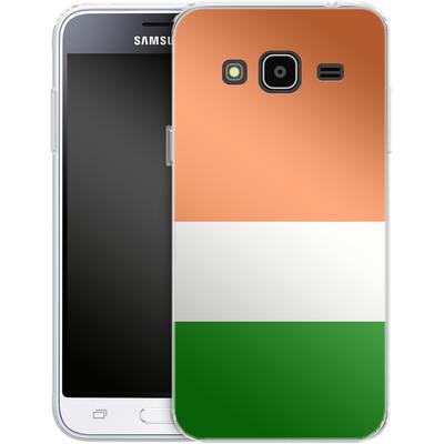 Samsung Galaxy J3 (2016) Silikon Handyhuelle - Ireland von caseable Designs