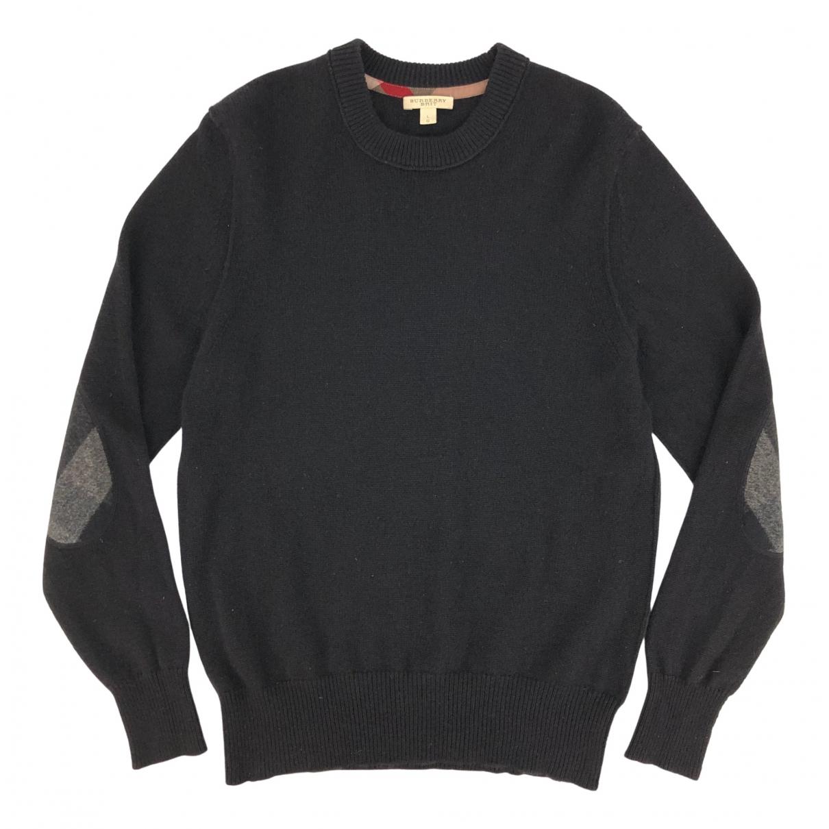 Burberry \N Pullover.Westen.Sweatshirts  in  Schwarz Kaschmir