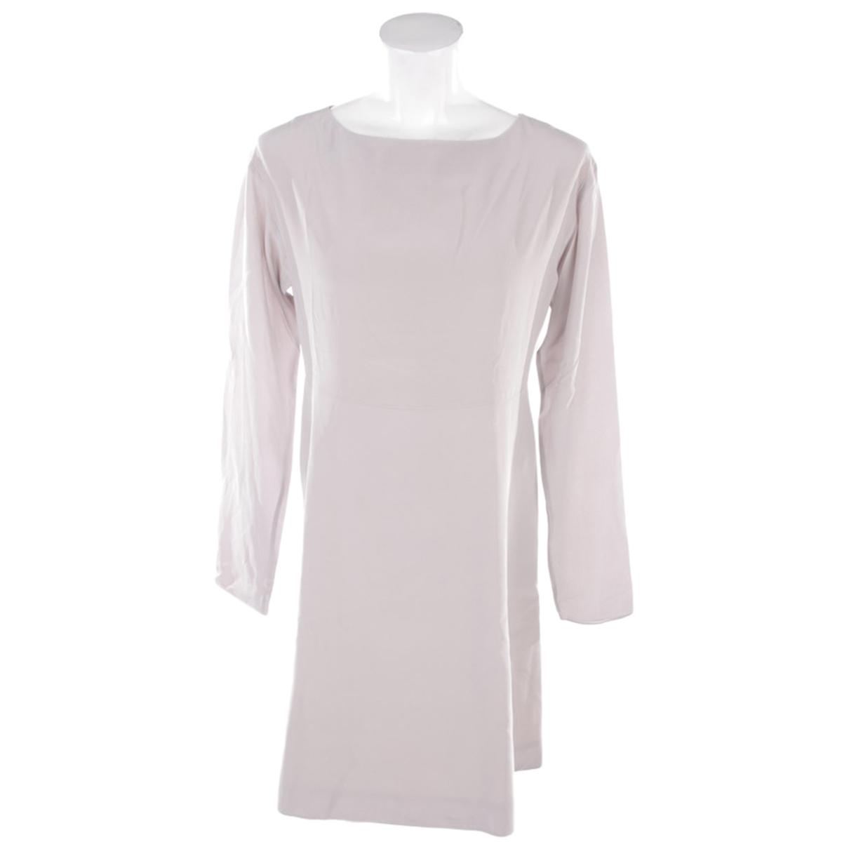 Dorothee Schumacher - Robe   pour femme en soie - gris