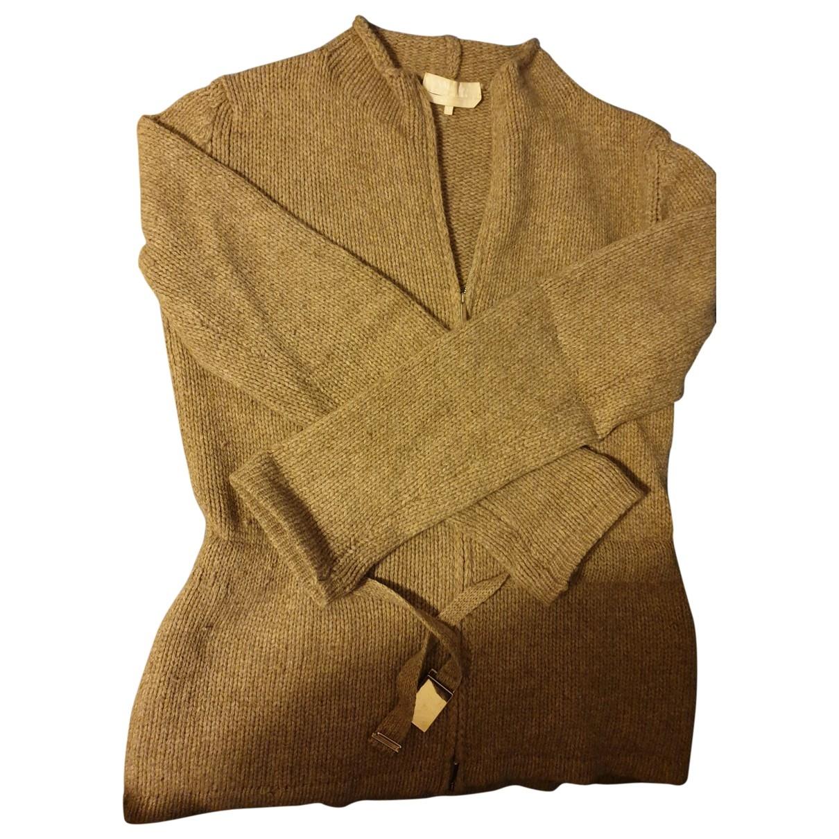 Max Mara s \N Beige Wool Knitwear for Women 42 IT