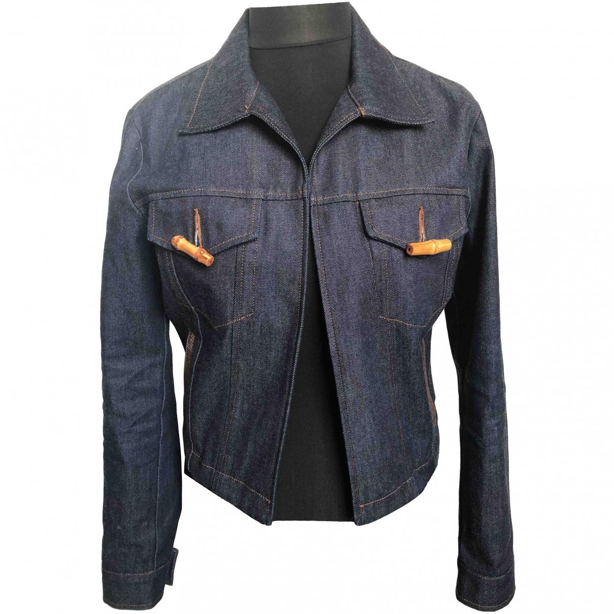 Acne Studios \N Jacke in  Blau Denim - Jeans
