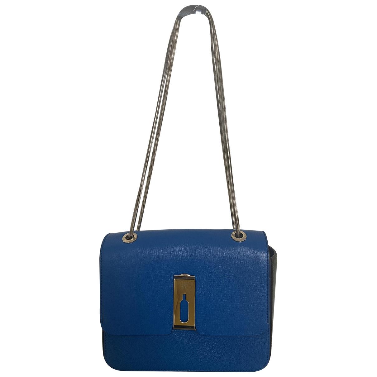 Anya Hindmarch \N Blue Leather handbag for Women \N