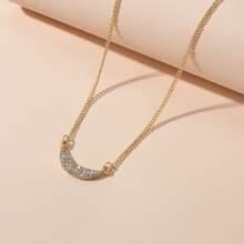 Halskette mit Strass