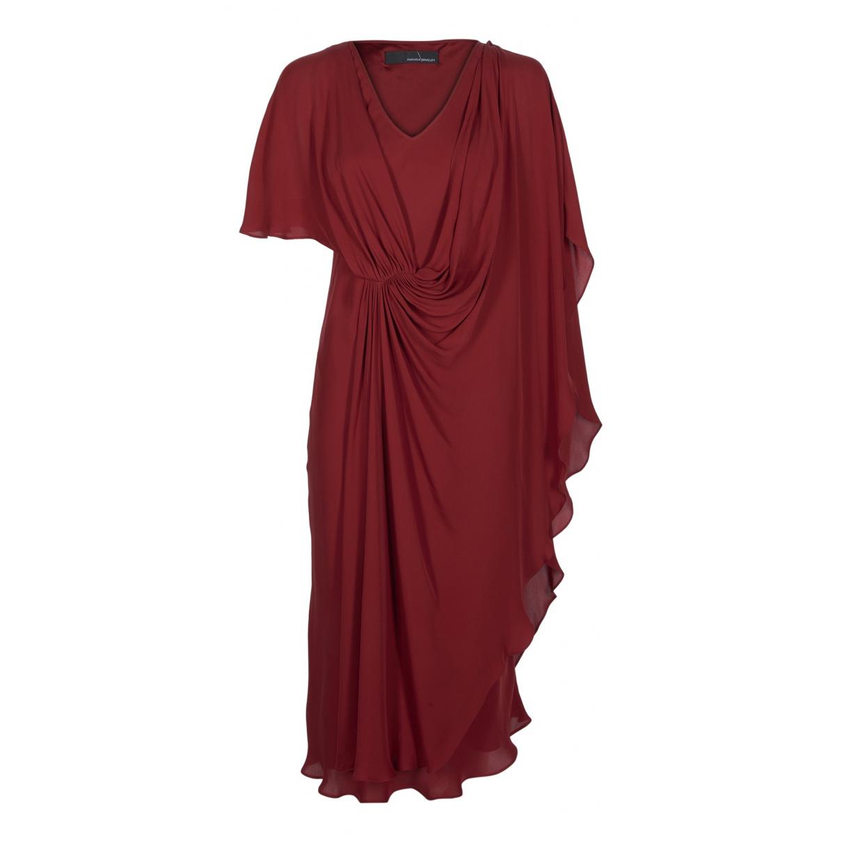 Amanda Wakeley \N Kleid in  Rot Seide