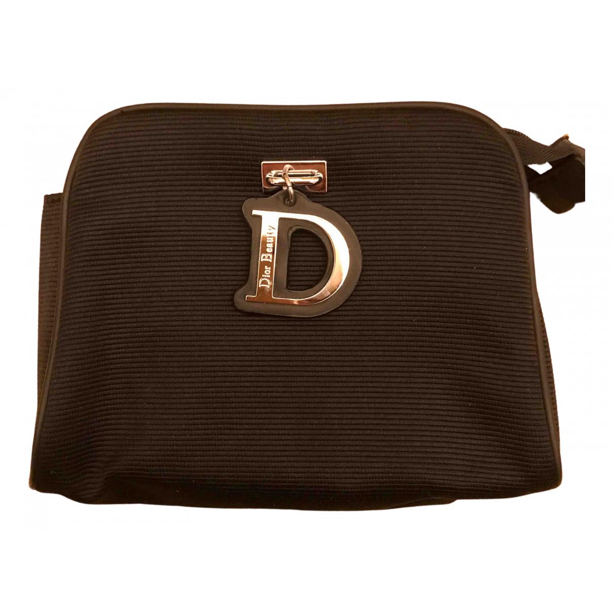 Dior N Black Cloth Travel bag for Women N