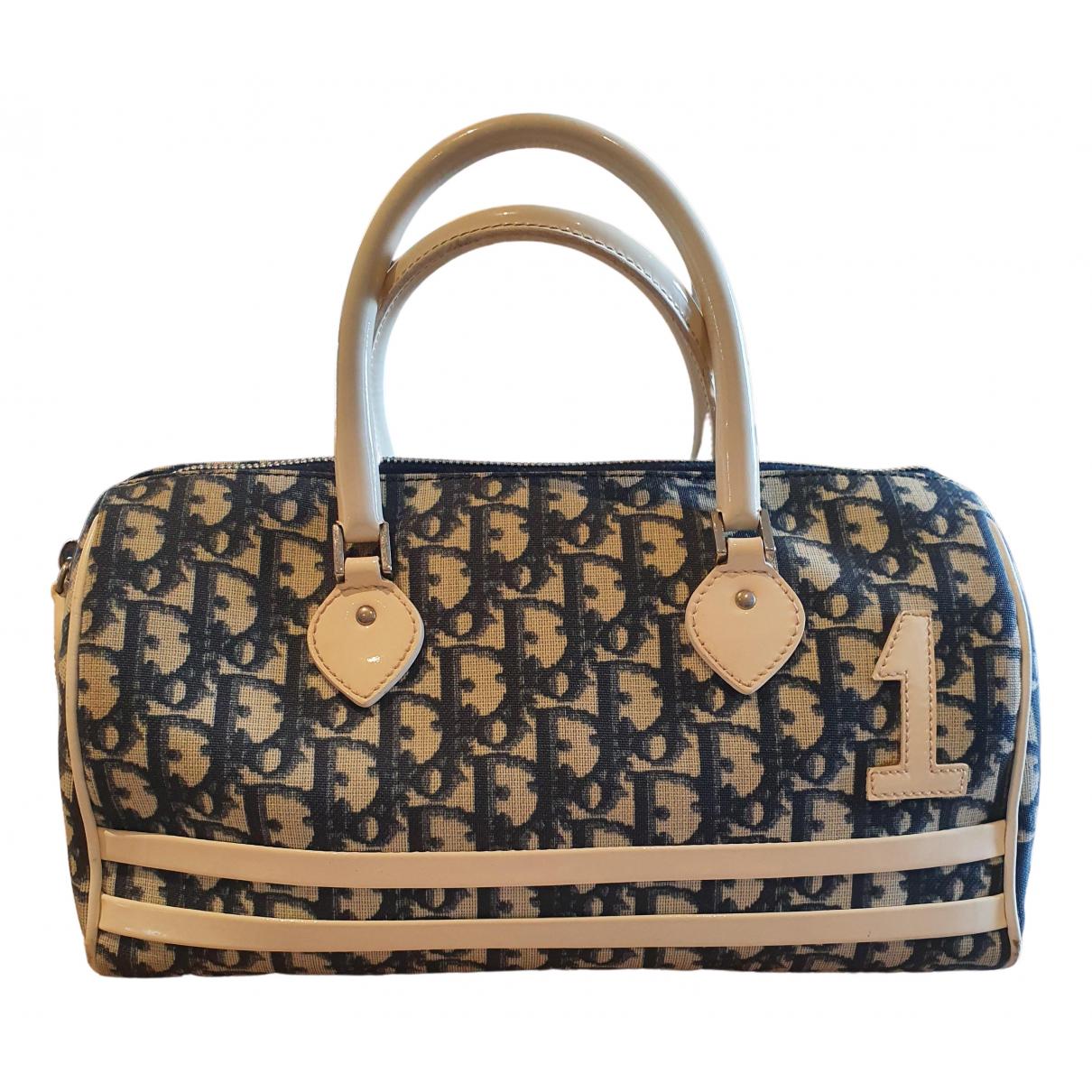 Dior \N Handtasche in  Blau Leinen