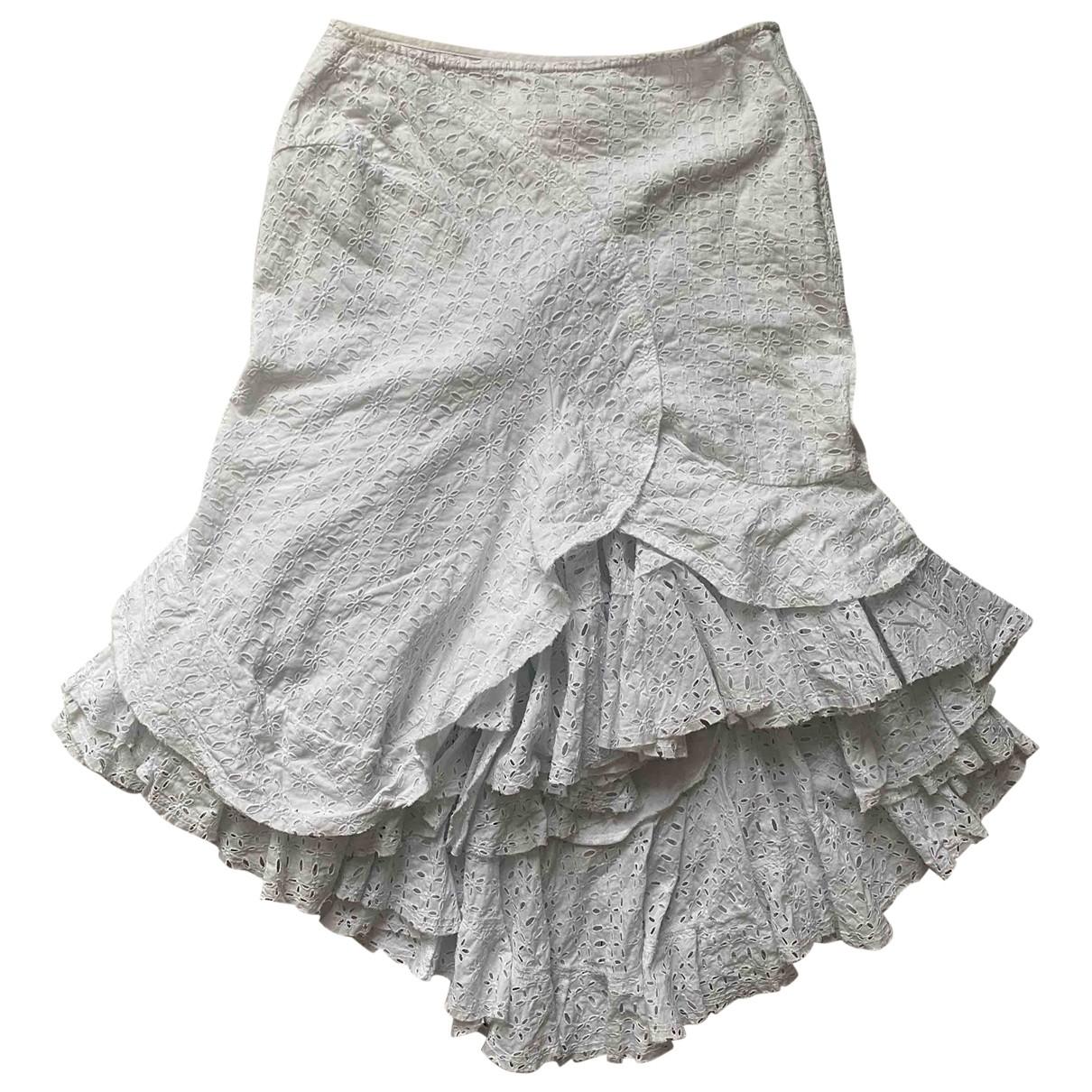 Junya Watanabe \N White Cotton skirt for Women S International