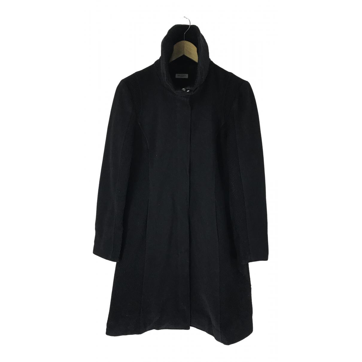 Max & Co \N Black Wool coat for Women 42 IT