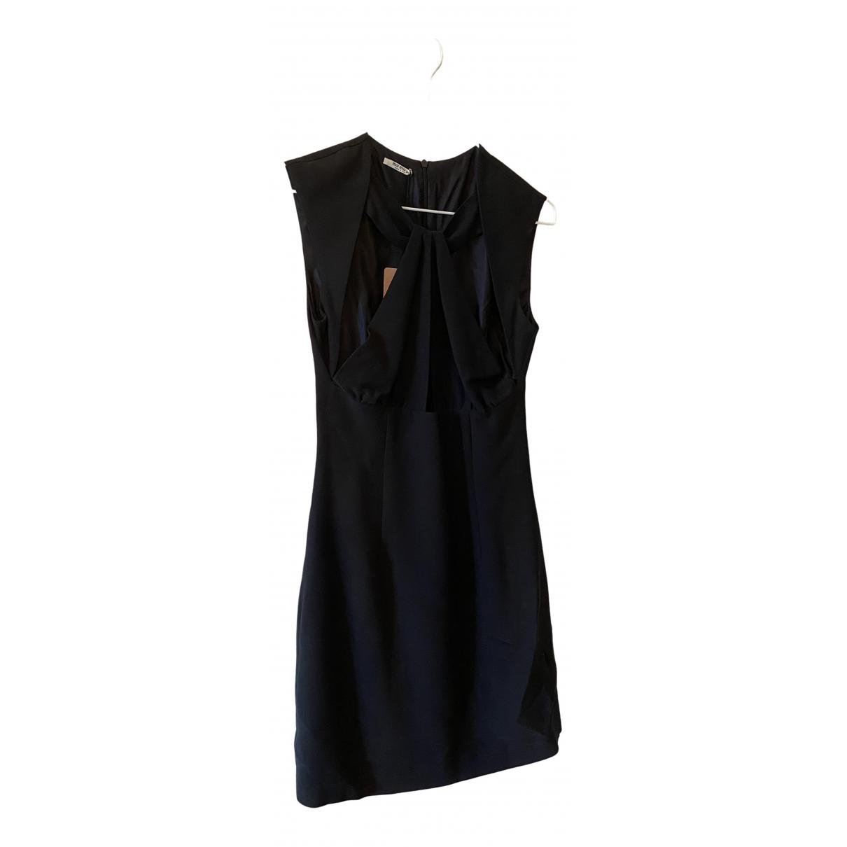 Miu Miu \N Black Silk dress for Women 38 IT