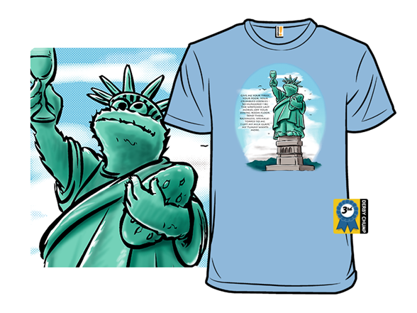 Statue Of Cookie Tee T Shirt