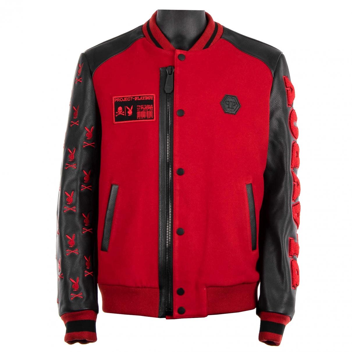 Philipp Plein \N Red Wool jacket  for Men S International