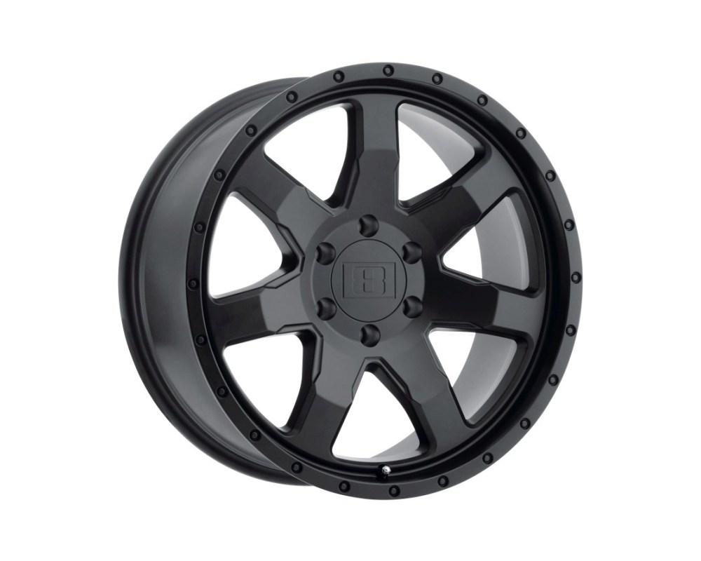 Level 8 Slam Wheel 17x8.5 6x132 12mm Matte Black