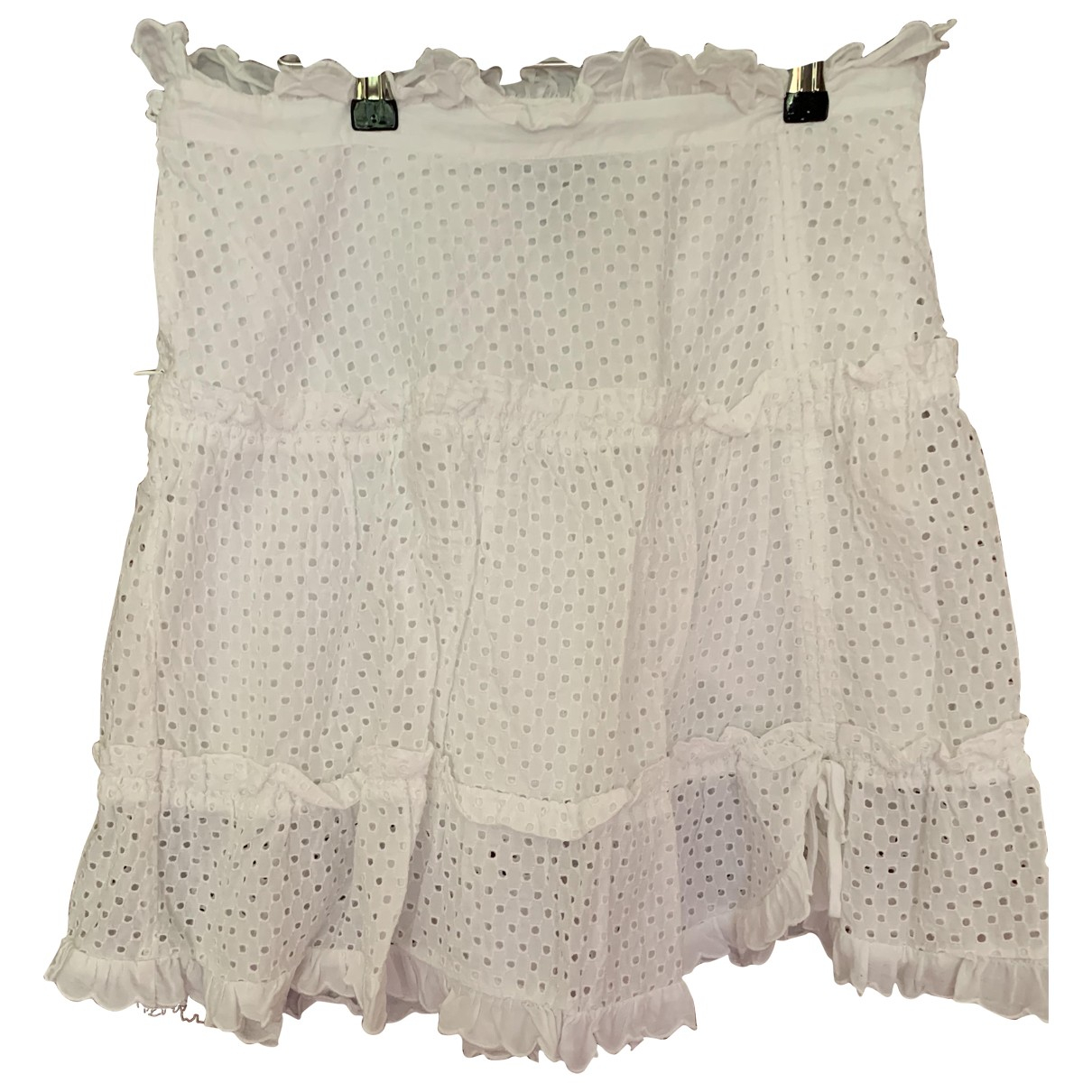 Marc By Marc Jacobs \N White Cotton skirt for Women 4 US