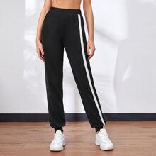 Side Stripe Sports Pants