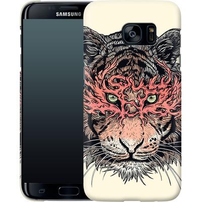 Samsung Galaxy S7 Edge Smartphone Huelle - Masked Tiger von Mat Miller