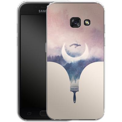 Samsung Galaxy A3 (2017) Silikon Handyhuelle - Fleeting Moments Wide von Enkel Dika