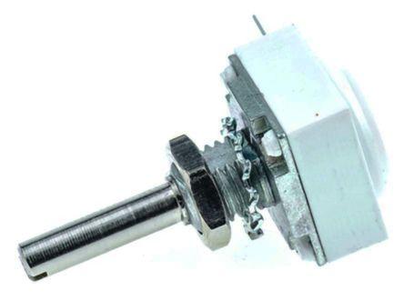 Vishay 1 Gang Rotary Conductive Plastic Potentiometer with an 3.18 mm Dia. Shaft - 1kΩ, ±10%, 0.5W Power Rating,