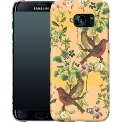 Samsung Galaxy S7 Edge Smartphone Huelle - Vintage Botanic von Zala Farah