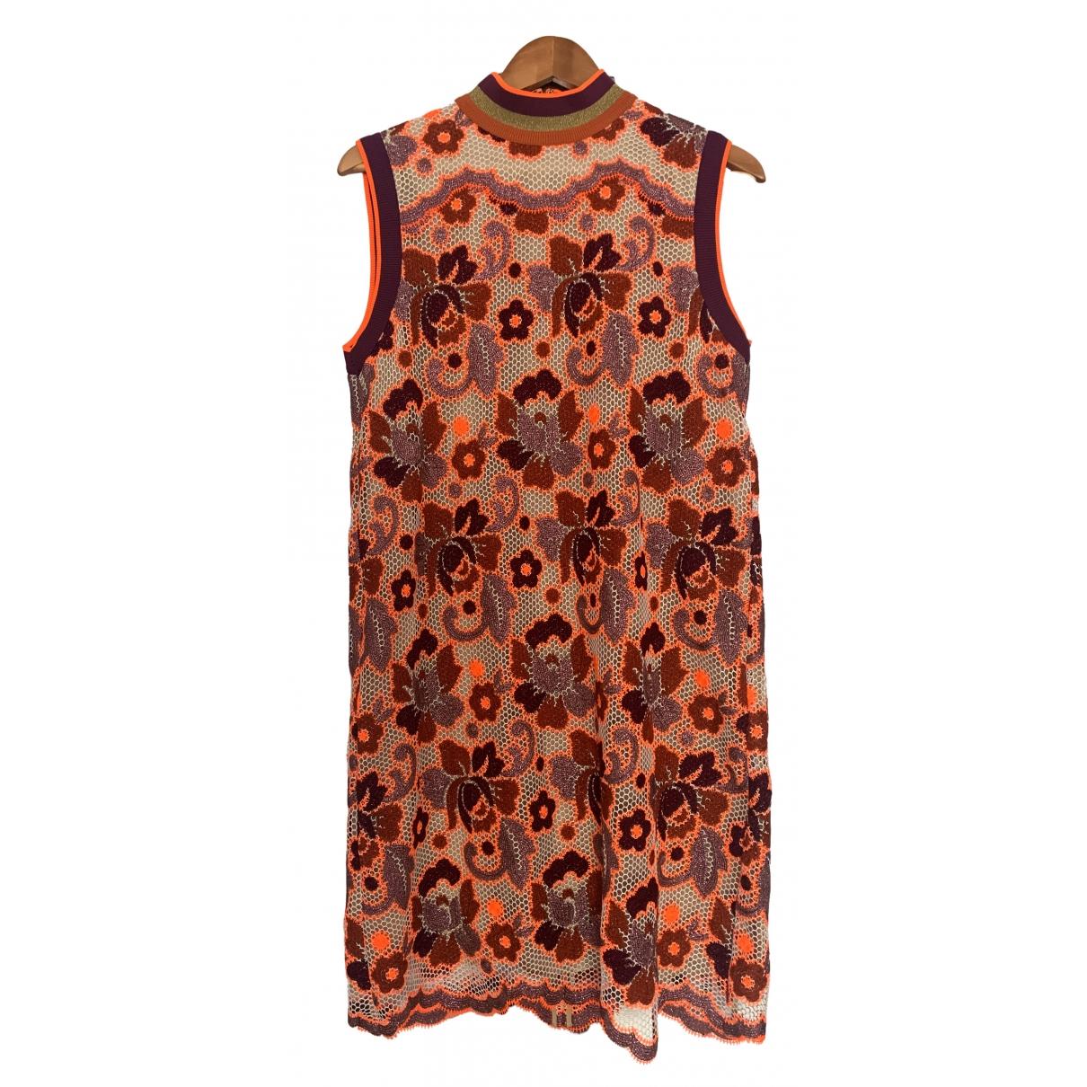 Burberry \N Kleid in  Bunt Spitze