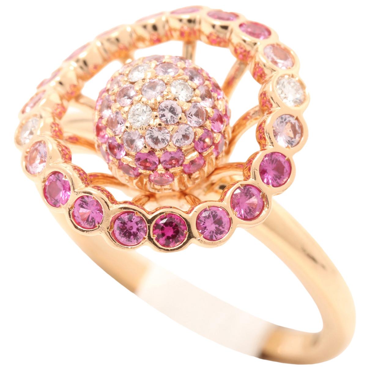 Boucheron - Bague   pour femme en or rose - dore