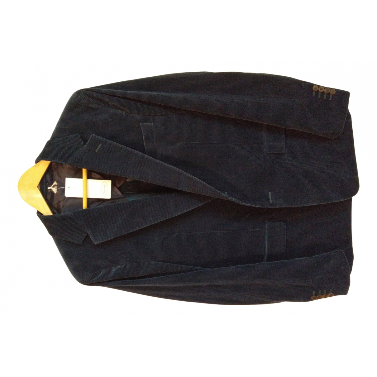 Faconnable N Blue Velvet jacket  for Men L International
