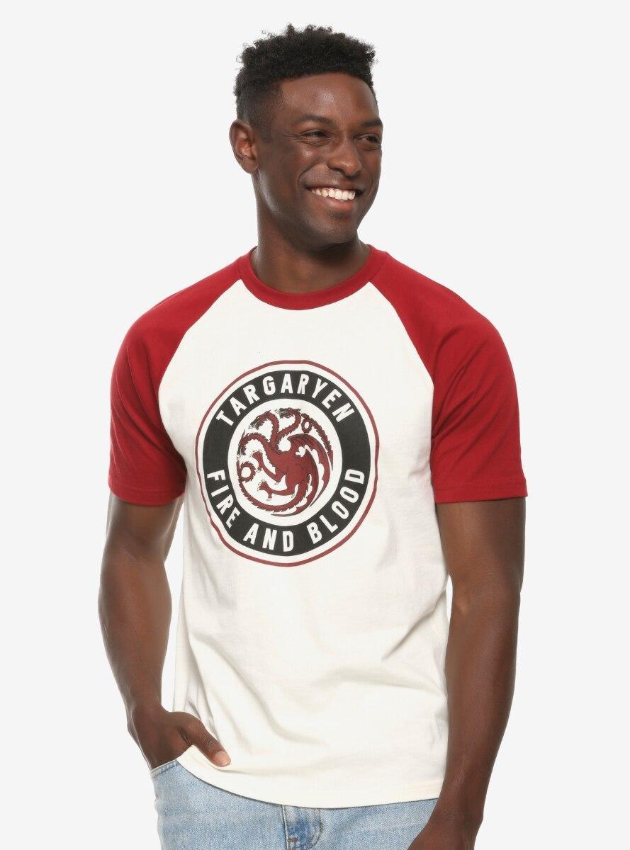 Game of Thrones Targaryen Short Sleeve Raglan T-Shirt - BoxLunch Exclusive