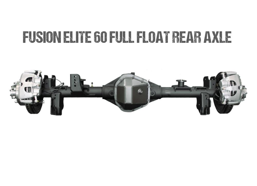 Jeep JL Axle Assembly Fusion Elite 60 Full Float Rear Axle Assembly 72 Inch 18-Pres Wrangler JL Gear Ratio 5.13 Eaton E-Locker Fusion 4x4