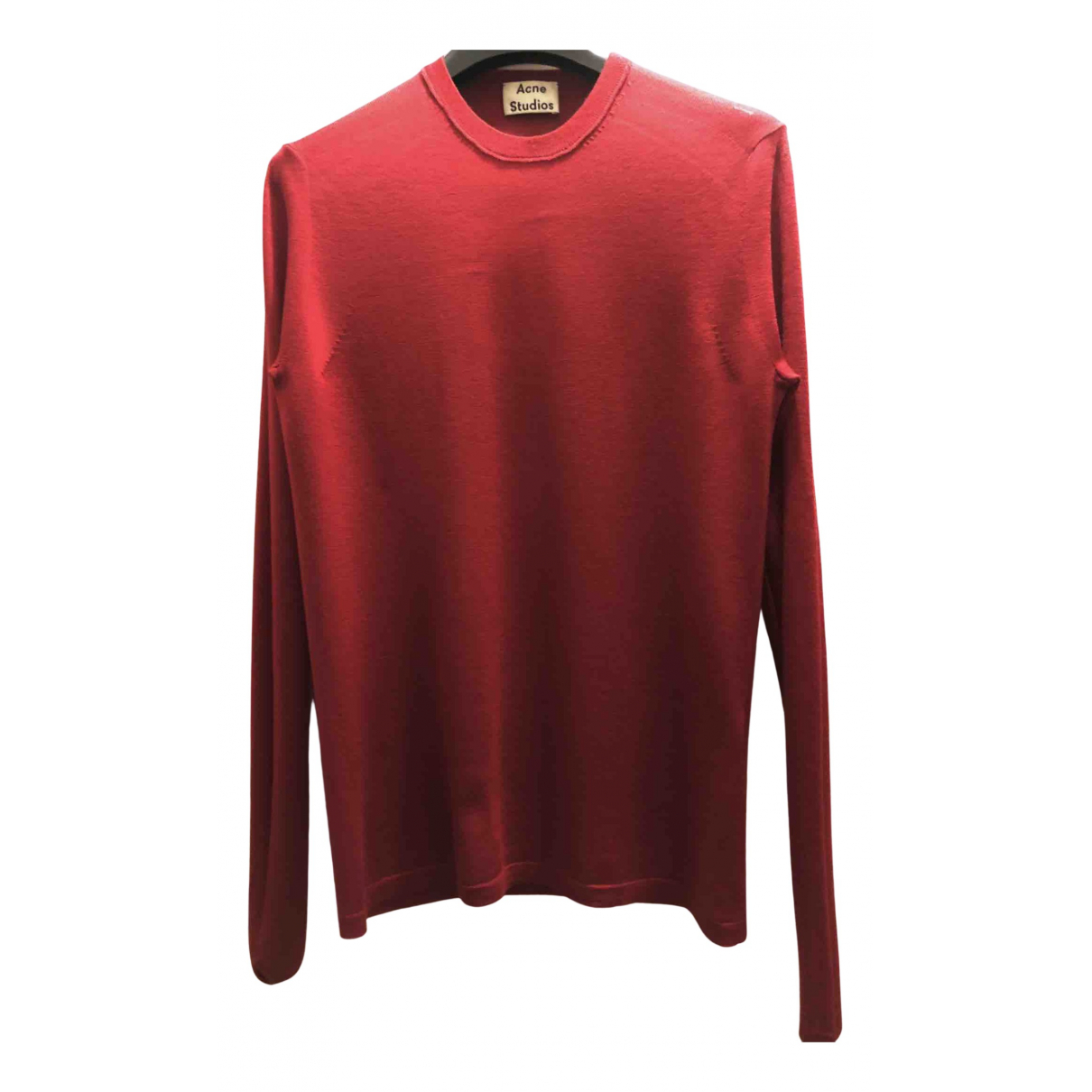 Acne Studios N Red Wool Knitwear for Women S International
