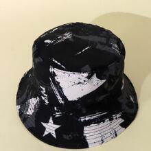 Kids Star Print Bucket Hat