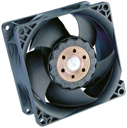 ebm-papst , 48 V dc, DC Axial Fan, 80 x 80 x 38mm, 222.7m³/h, 36W