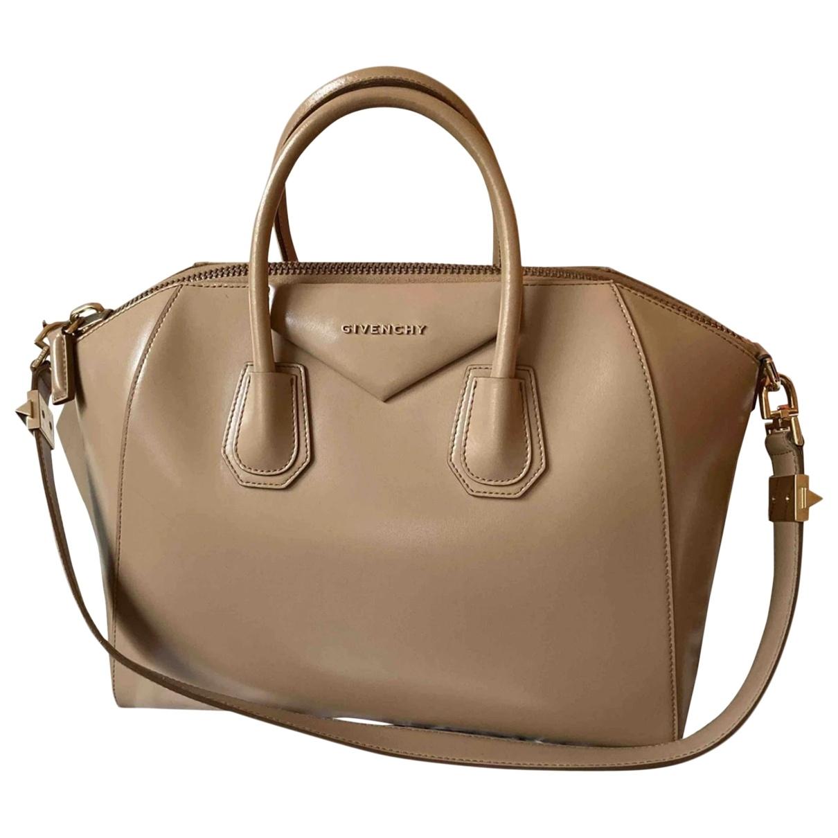 Givenchy Antigona Beige Leather handbag for Women \N