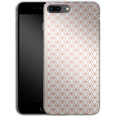 Apple iPhone 8 Plus Silikon Handyhuelle - Morning Pattern von #basic