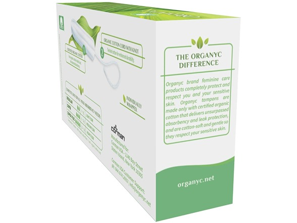 Organyc 100% Organic Cotton Tampons 16ct