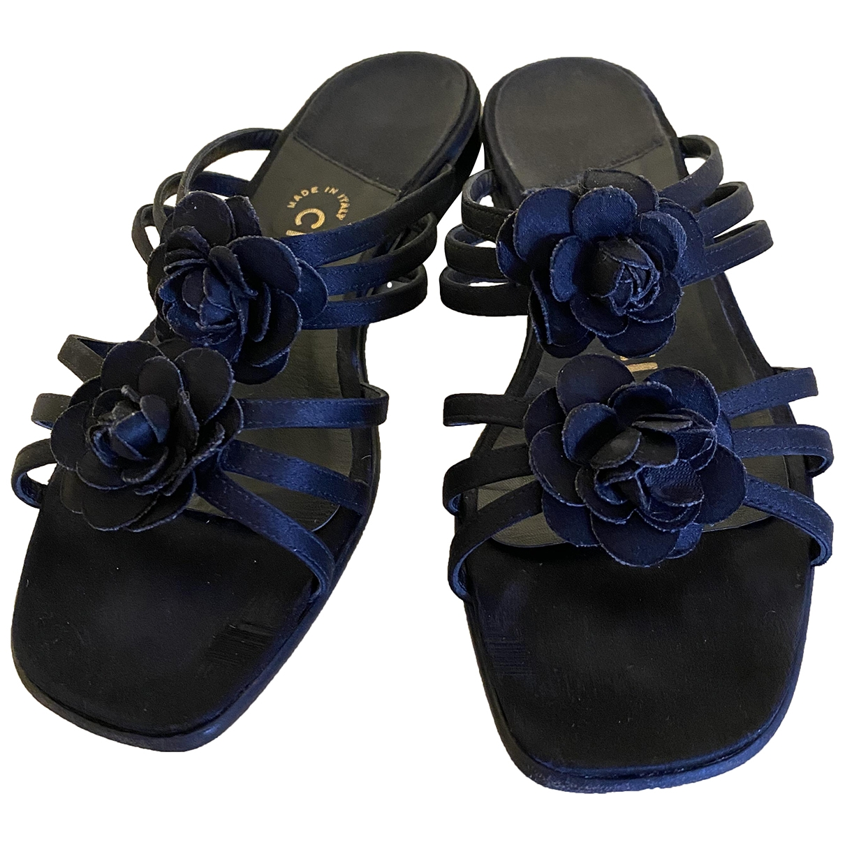 Chanel \N Black Sandals for Women 38 EU