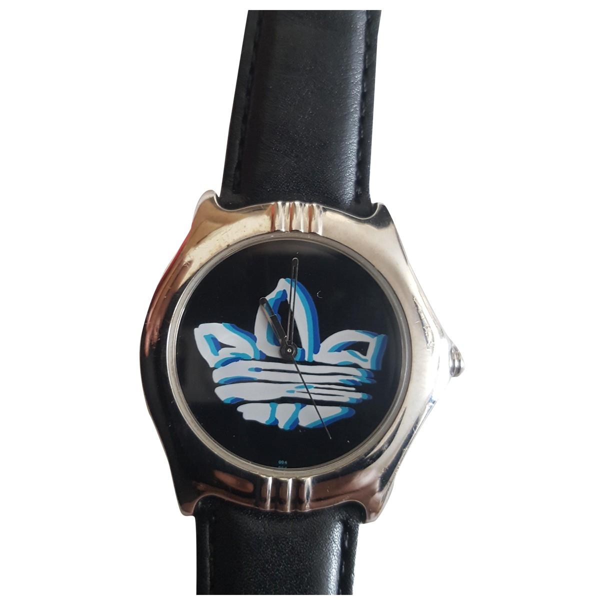 Adidas - Montre   pour homme en acier - noir